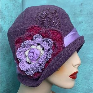 Accessories - Lovely Custom French lavender cloche